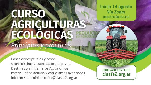 Curso Agriculturas ecológicas