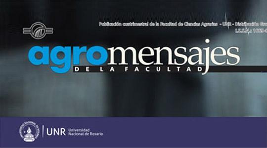 Revista de la publicación cuatrimestral de la Facultad de Ciencias Agrarias UNR