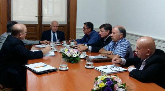 Reunion Ciasfe y autoridades provinciales