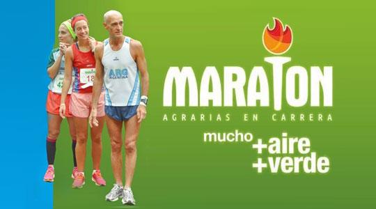 Maratón Agrarias en carrera
