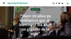 Revista Agrovisión Profesional para Ingenieros Agrónomos