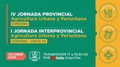 Jornada Agricultura Urbana y Periurbana Córdoba 2020