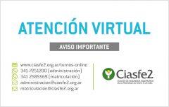 Atención virtual 2021